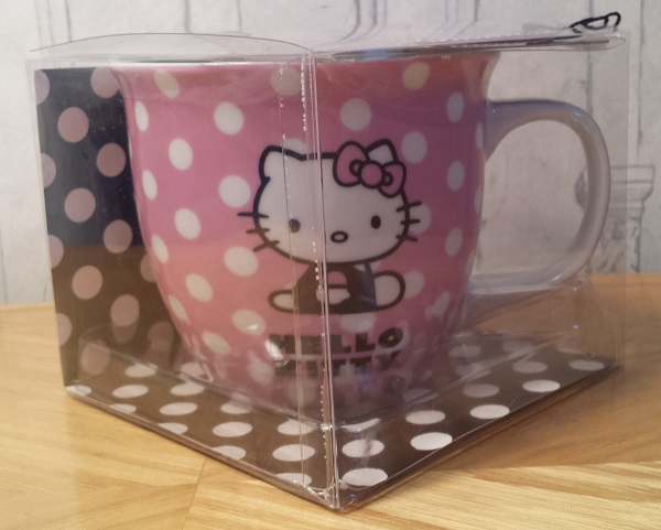 Hello Kitty Cappuccino Mug with Stencil Gift Set